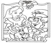 Coloriage disney noel 8