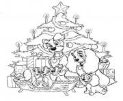 Coloriage disney noel 5
