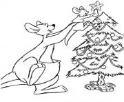 Coloriage disney noel 36