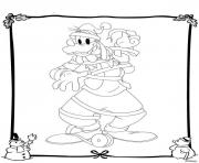 Coloriage disney noel 39