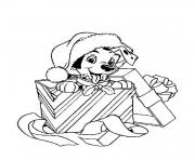 Coloriage disney noel 40