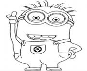 Coloriage minion de moi moche et mechant 30