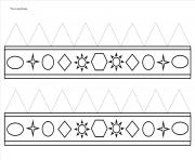 couronne des rois petit maternelle dessin à colorier