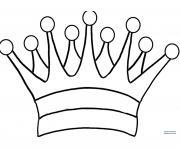 couronne des rois 2 dessin à colorier