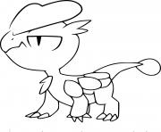 Coloriage pokemon xy bebecaille