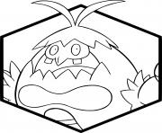 Coloriage pokemon chartor dessin