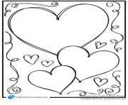 coeur 104 dessin à colorier