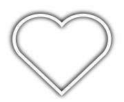 coeur 90 dessin à colorier