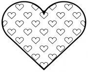coeur 76 dessin à colorier