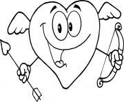 coeur saint valentin 138 dessin à colorier
