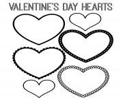 coeur saint valentin 122 dessin à colorier