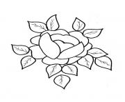 Coloriage roses 125