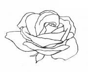 Coloriage Rose à Imprimer Dessin Sur Coloriageinfo