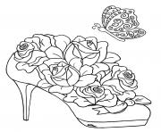 Coloriage roses 188