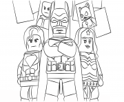 lego super heroes batman dessin à colorier