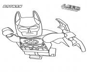 Coloriage batman lego in the airs movie