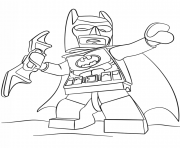 Coloriage lego batman 3 film 2017