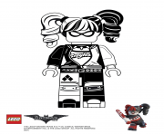 Coloriage Harley Quinn Batman Lego Movie