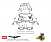 Coloriage BarbGor Lego Batman Movie