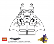 Batgirl Lego Batman Movie dessin à colorier