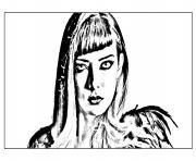chica vampiro catalina dessin à colorier