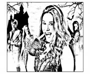 chica vampiro daisy et ses amis dessin à colorier