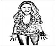 chica vampiro daisy la vampire dessin à colorier