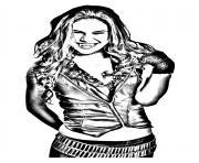 chica vampiro daisy sympa dessin à colorier