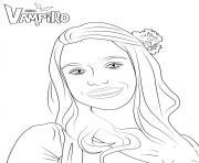 Marylin Chica Vampiro dessin à colorier
