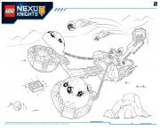 Lego Nexo Knights Monster Productss 2 dessin à colorier