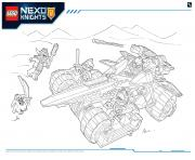 Lego NEXO KNIGHTS products 4 dessin à colorier