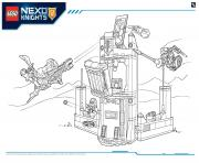 Coloriage Lego Nexo Knights file page6