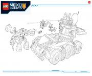Lego NEXO KNIGHTS products 2 dessin à colorier