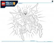 Lego Nexo Knights MONSTRES ULTIMATE 2 dessin à colorier