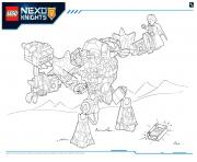 Lego Nexo Knights Monster Productss 3 dessin à colorier