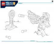 Coloriage Lego Nexo Knights file page4