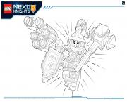 Coloriage Lego Nexo Knights Ultimate Knights 1