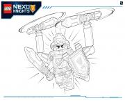 Coloriage Lego Nexo Knights Ultimate Knights 2
