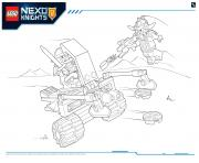 Lego NEXO KNIGHTS products 5 dessin à colorier