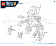 Coloriage Lego NEXO KNIGHTS products 6