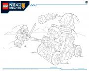 Lego Nexo Knights Monster Productss 1 dessin à colorier