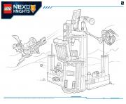 Lego NEXO KNIGHTS products 9 dessin à colorier