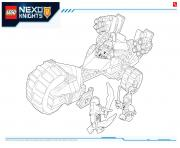Lego NEXO KNIGHTS products 3 dessin à colorier