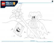 Lego Nexo Knights Monster Productss 4 dessin à colorier