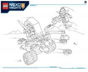 Coloriage Lego Nexo Knights file page2