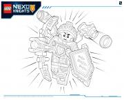 Coloriage Lego Nexo Knights Ultimate Knights 3