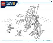 Coloriage Lego Nexo Knights file page3