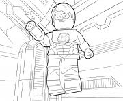 Coloriage LEGO DC Universe Super Heroes
