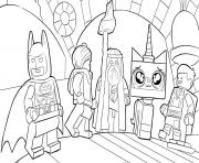 Coloriage lego batman movie having fun
