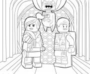 Coloriage lego batman sheet